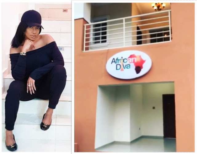 Actress Chika Ike Shows Off Her African Diva House For Her Reality Show