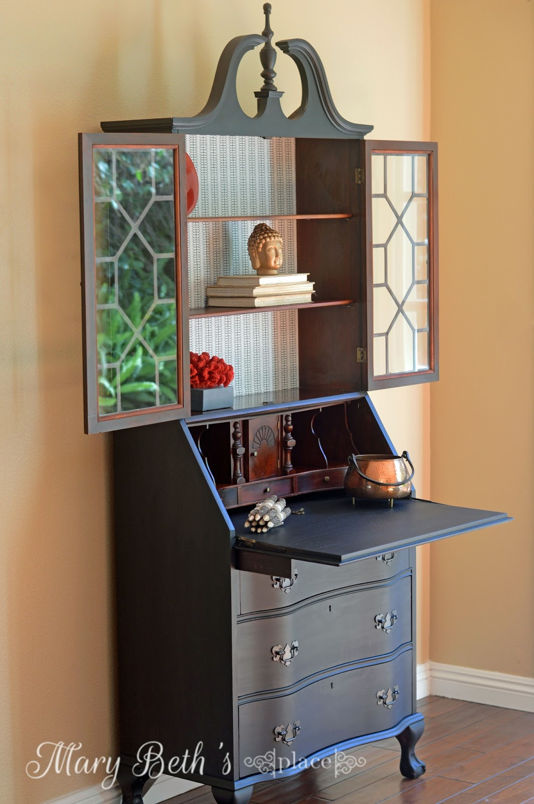 Mary Beth S Place My Obsession With Secretary Desks Part