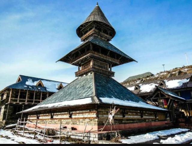 Prashar Rishi Temple