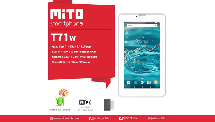 Firmware Mito T71w Tablet WiFi Only Official SPD Pac File