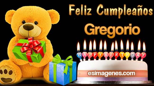 Feliz Cumpleaños Gregoria