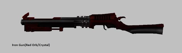 Iron Gun [Red Orb] Force Gunner