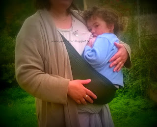 portage allaitement wacotto lucky bambin bébé maman port'allaitement