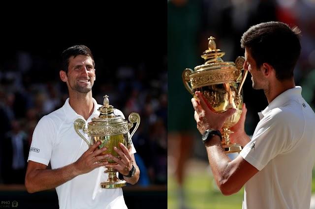 Djokovic trở lại ngoạn mục với chức vô địch Wimbledon 2018.
