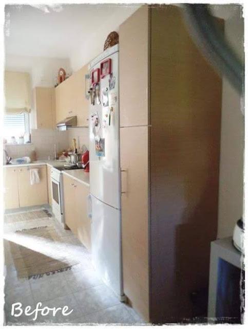 Μεταμόρφωση Κουζίνας με Paris Grey 3 Annie Sloan Greece