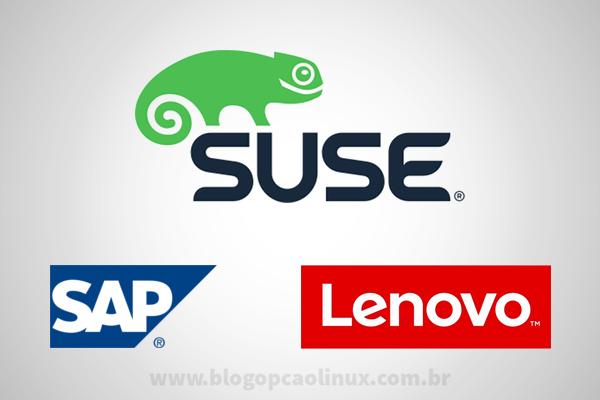 Parceria entre a SUSE e a Lenovo