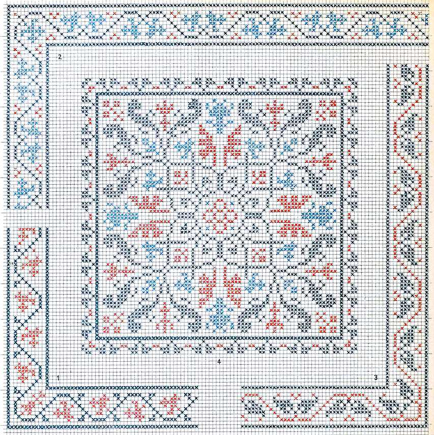 1888 needlepoint design