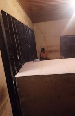 Photos: 9-year-old boy arrested by police in Asaba after his mother fled as the police was looking for her