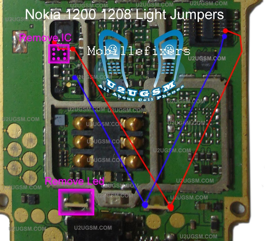 Ic Controlled Emergency Light With Charger Circuit Diagram