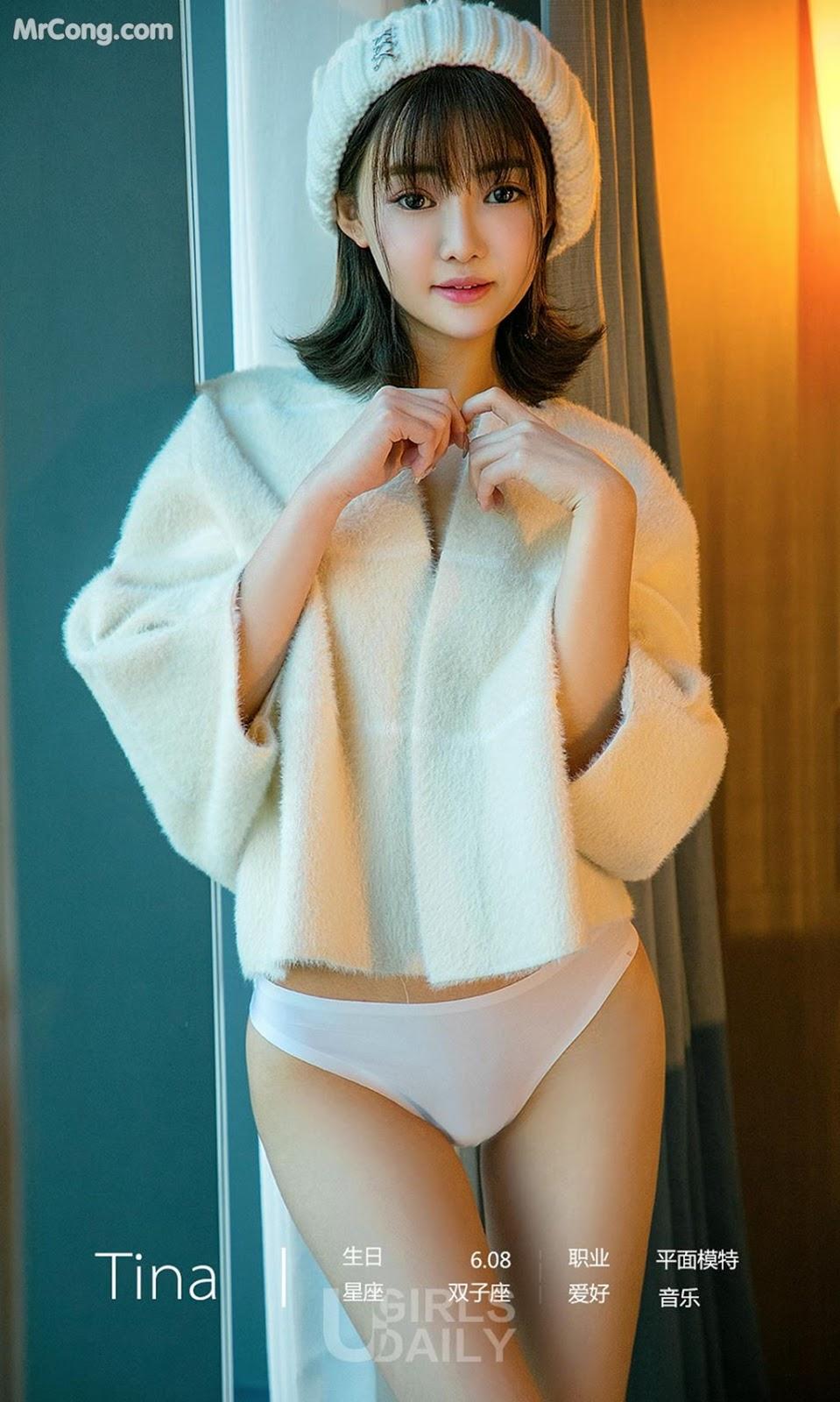 UGIRLS – Ai You Wu App No.1206: Người mẫu Tina (35 ảnh)