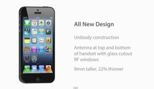 iphone 5 new design