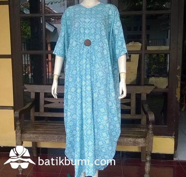 Kaftan Rayon Batik Cap toska