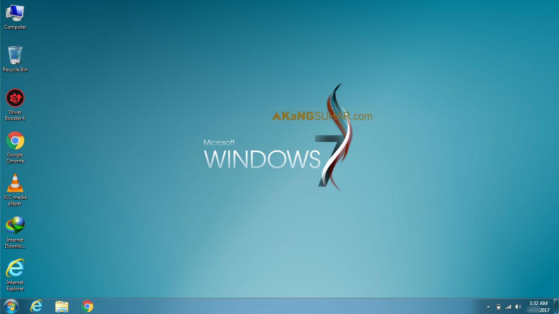 Download Windows 7 Super Lite Edition 2017 x86 Full Version Terbaru