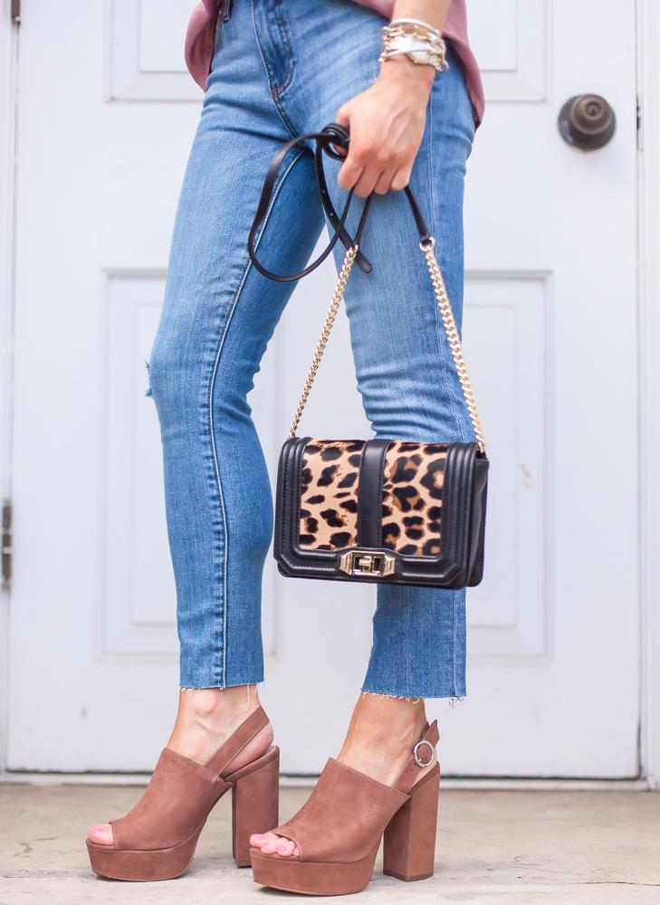 rebecca minkoff leopard small genuine calf hair crossbody bag