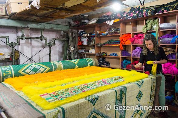 keçe yapımı, Tire İzmir
