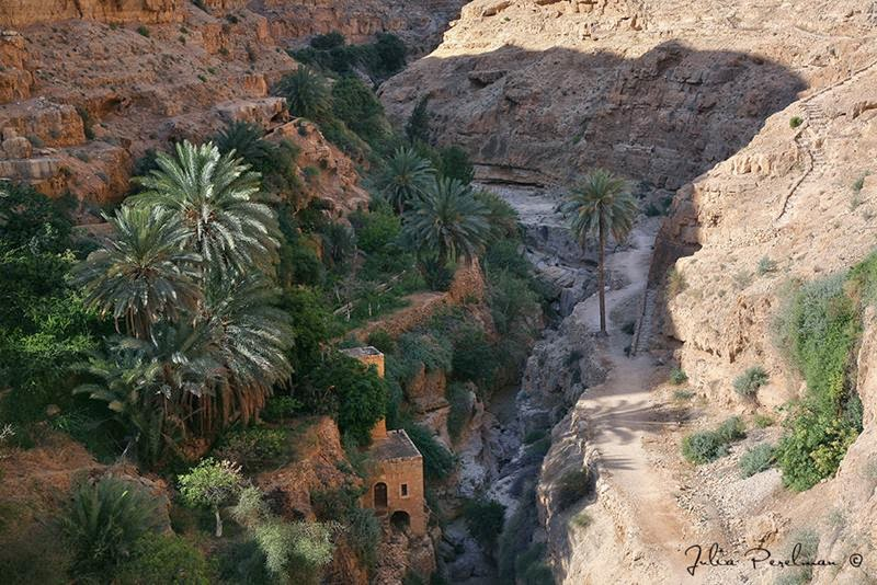 The Monastery in Wadi Qelt