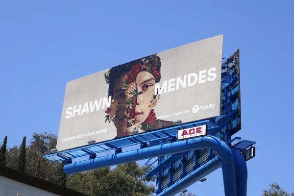 Shawn Mendes album Spotify billboard