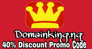 Domainking.ng coupons,promocode for 40% discount