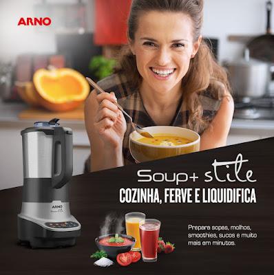 lu tudo sobre tudo arno soup+ stile