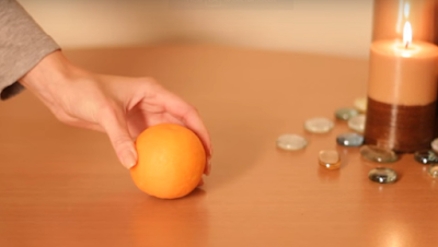 _orange-and-banana-mask  candle كيف تصنعين قناع الموز والبرتقال شمع شموع