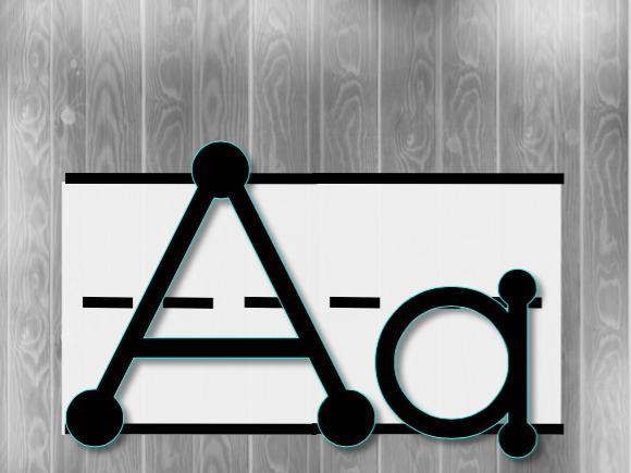 New Alphabet line!