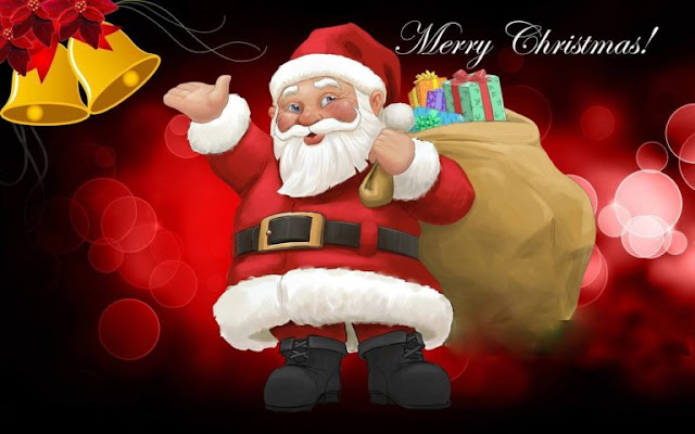Christmas santa clause cartoon photo