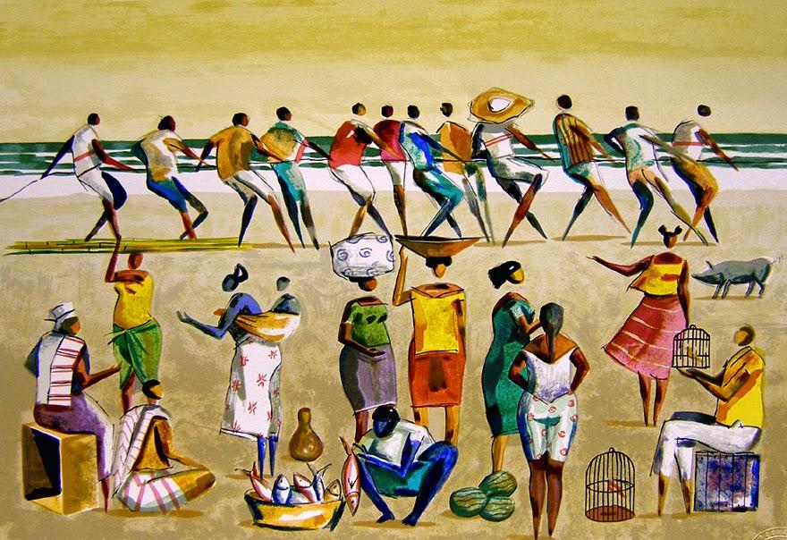 Cotidiano - Carybé ~ Um pintor fascinado pela cultura da Bahia