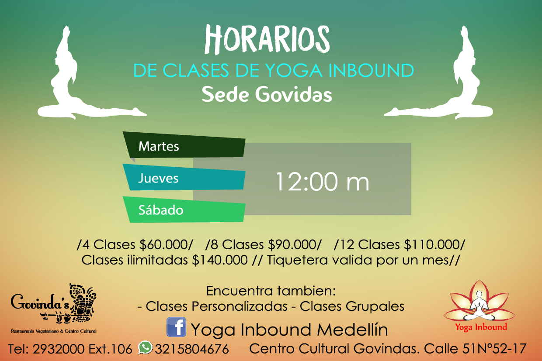 yoga,inbound,horarios,govindas,salud