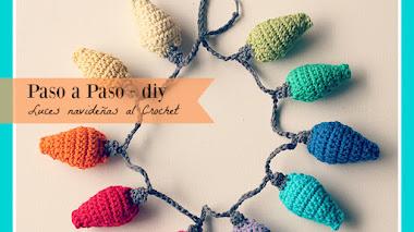 Luces de Navidad al Crochet - DIY
