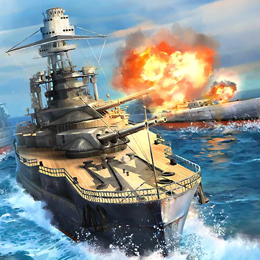 تحميل لعبه Warship Universe: Naval Battle مهكره وجاهزه