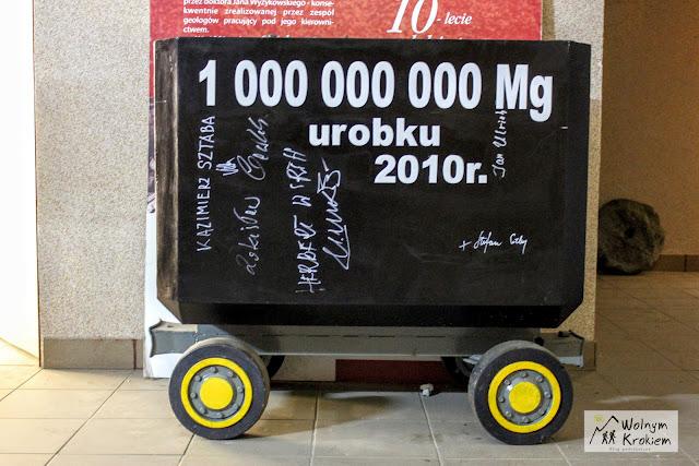 1 000 000 000 ton Urobku z KGHM Szyb Bolesław