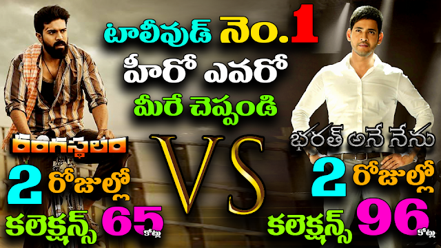Bharath Anu Nenu 2 days box office collection record