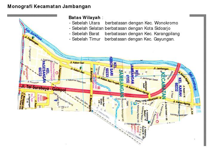 PROFIL KECAMATAN JAMBANGAN - KIM Kecamatan Jambangan ...