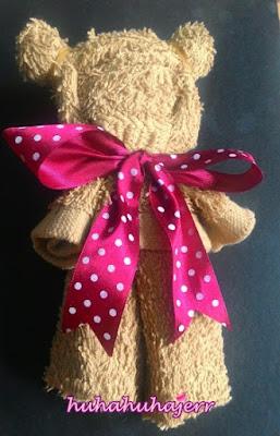 DIY Teddy Bear Dari Tuala
