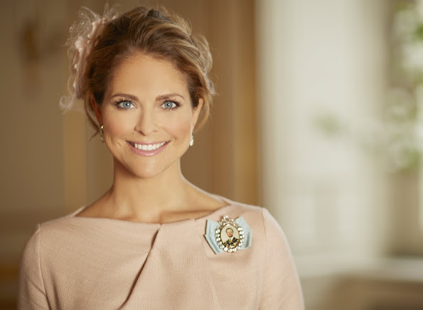 Princess Madeleine of Sweden who is the Duchess of Halsingland. Happy birthday to you, Princess Madeleine