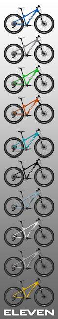 ELEVEN Bikes color options
