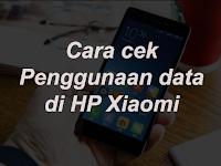 Cara Cek Penggunaan Kuota Data Internet di HP Xiaomi
