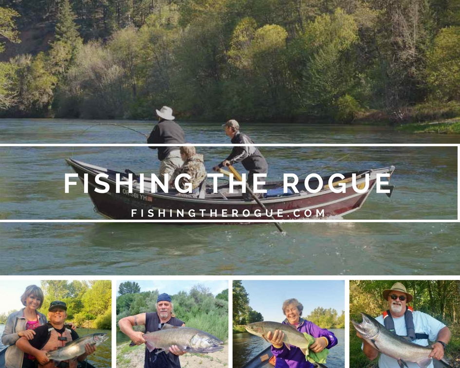 Join us for the best of rogue river fishing rogue river for Oregon fishing license price