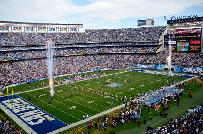 San Diego Chargers Luxury Suites | Luxury Suite Rentals Qualcomm Stadium Chargers