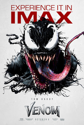 Marvel's Venom IMAX Theatrical One Sheet Movie Poster