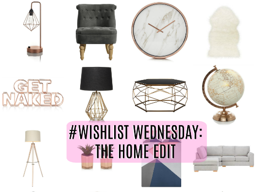 #WISHLIST WEDNESDAY | HOMEWARE EDITION