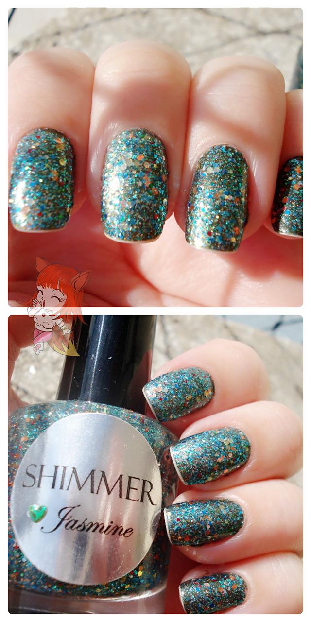Esmalte Jasmine :: Shimmer Polish - Resenha