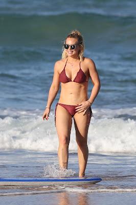 Hilary Duff Hot Bikini