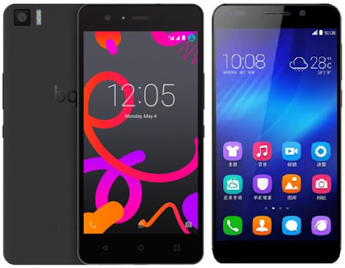 bq Aquaris M5 vs Huawei Honor 6