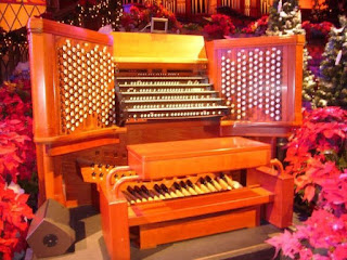 Conference Center Organ Console