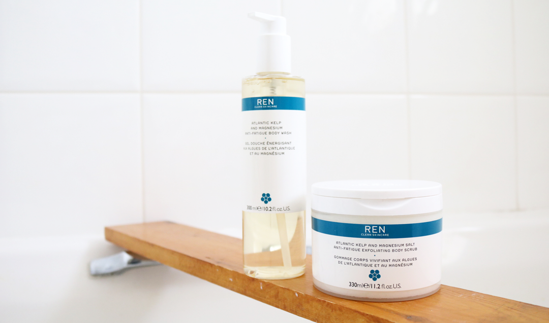 REN Atlantic Kelp and Magnesium Salt Anti-Fatigue Exfoliating Body Scrub & Body Wash review