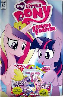 MLP Friends Forever comic #30, main cover