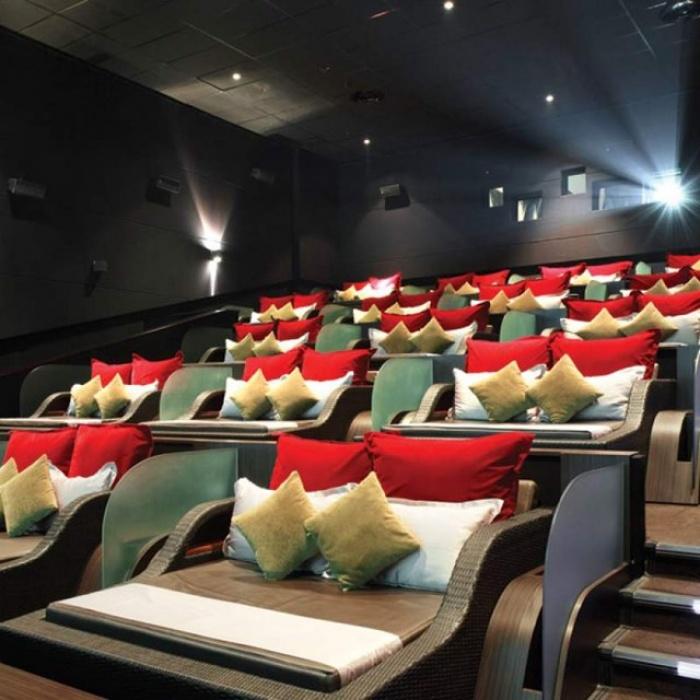 Phát sốt với rạp cinema giường nằm siêu đẳng cấp chỉ có ở Sài Thàn4h