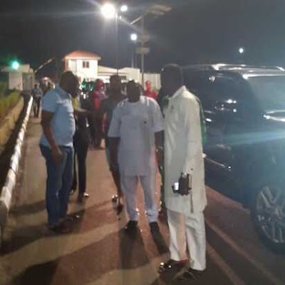 Governor AYO Fayose stops DSS from Arresting Apostle Johnson Suleiman of The Omega Fire Ministries Worldwide in Ado Ekiti who called for his Congregation to Kill Fulani Herdsmen