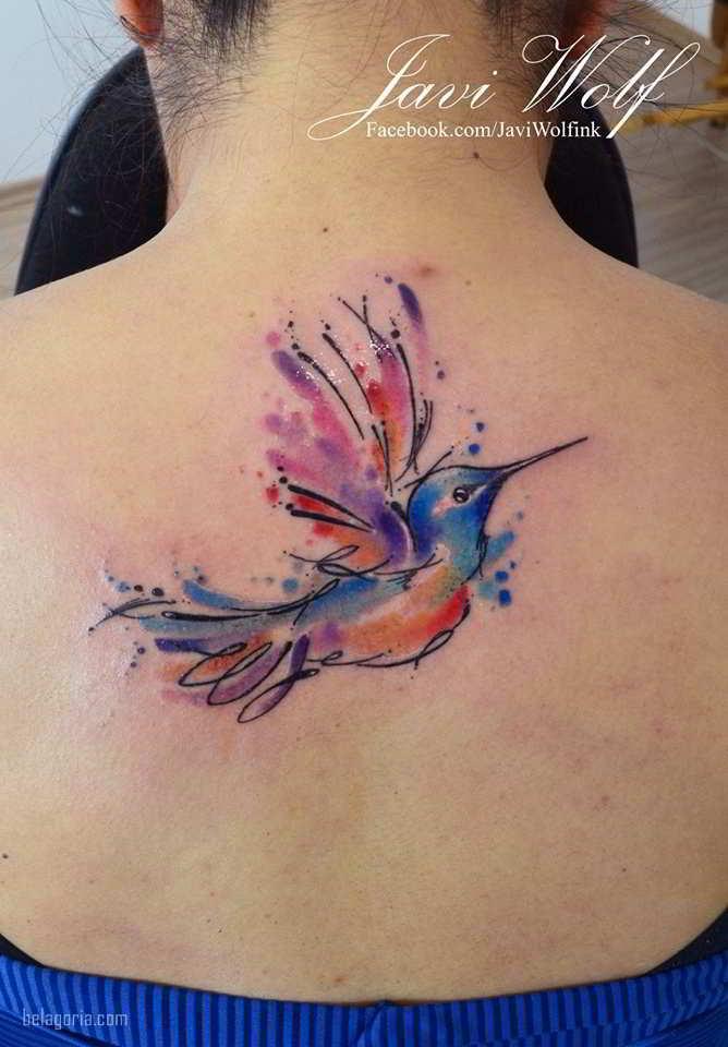 Tatuajes Del Colibrí Para Mujeres Significado Y Mejores Ideas